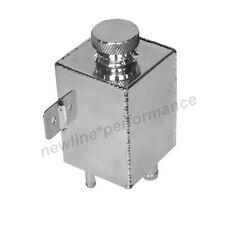 ALUMINUM RADIATOR EXPANSION TANK POWER STEERING SWIRL TANK / OVERFLOW TANK