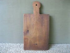 """Vintage Cutting Bread Board Primitive Country 13-1/2"""" x 7"""" Wood, Dough"""
