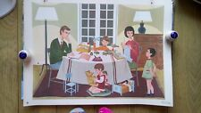 Vintage French School poster by Fernand Nathan