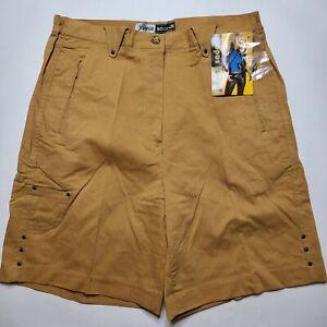 NWT Vintage Dead Stock Jamie Sadock Golf Shorts Women's SIZE 12 Brown #4