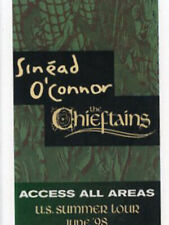 Sinead O'Connor + The Chieftains - U.S. Tour 1998 backstage pass all area access