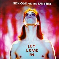 + CD  Nick Cave & The Bad Seeds Let Love in  nuovo incelofanato