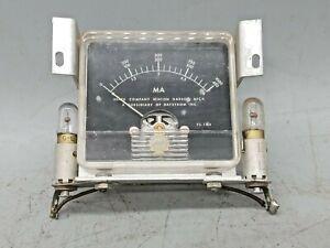 Heathkit Panel Meter for VHF-1  Mount Lamps  MS-1Ma
