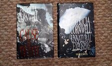 PATRICIA CORNWELL HARDBACKS: CAUSE OF DEATH, UNNATURAL EXPOSURE