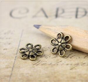 925 Silber Perlkappen Kappen Metallkappen DIY A2298 Perlenkappen 20Stk