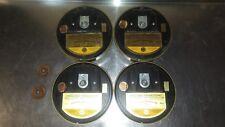 Vanguard Thermosonic Heat Rise Detector Alarms (4) V 5-40ft Vintage Fire Alarm