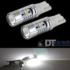 2X T10 168 High Power 2323 Chip LED 6000K Xenon White Light Bulbs Projector