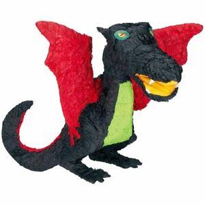 BLACK Dragon Pinata - Birthday Party Supplies