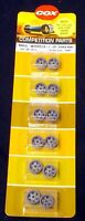 COX 1/24 9812 MAG. WHEELS (TAPER HUB), ONE CARD (SIX PAIRS) OLD STOCK