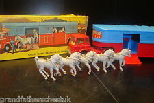 CORGI MAJOR NO 1130 ORIGINAL CHIPPERFIELDS BEDFORD CIRCUS HORSE TRANSPORTER INC