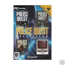 """POLICE QUEST COLLECTION 4 GAMES PC """" NEW & SEALED"""""""