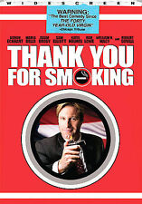 Thank You For Smoking (DVD, 2009, Full Frame) Free shipping