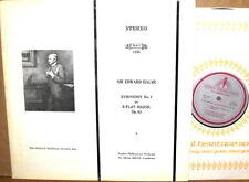 MHS-1335 (Lyrita Recording) ELGAR BOULT Symphony #2, Op. 63 NM-