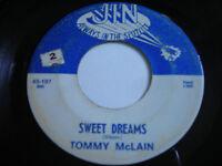 SHIGS Tommy McLain Sweet Dreams Original 1966 45rpm VG+