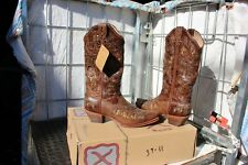 39-11 New Twisted X WOMENS 7.5B Chocolate Python western boots was 199.00