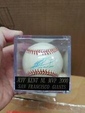 Jeff Kent Autographed San Francisco Giants Baseball. Steiner.