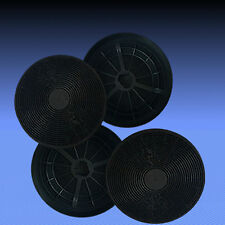 4 Aktivkohlefilter Fettfilter Filter für Dunstabzugshaube Respekta CH 9040-90 A