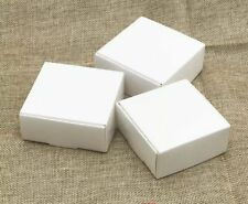 1x Sample White Paper Boxes Party Wedding Favour Boxes Bomboniere Gift Cake Box