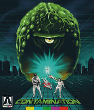 Contamination New Special Edition Blu-ray + DVD with slip cover