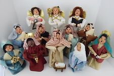 Byers Choice Kids Christmas Pageant Nativity 13 Pieces w/  Holy Family & More