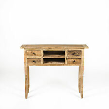 'BAMBI' Hall Table/Desk/Side Table/Console/Table - Rustic Recycled Elm Timber