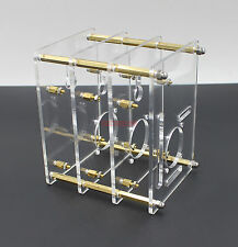 Stacked 3 Floors Clear Raspberry Pi 3 Pi 2 Case Half Open Frame Enclosure x1pcs