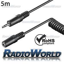 5 M 3.5 mm maschio a Jack Per Cuffie Audio Donna/MP3/AUX PRO Prolunga per Cavo OFC