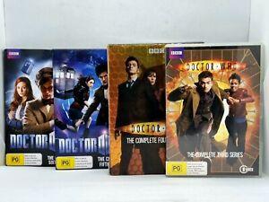 DOCTOR WHO Seasons 3 4 5 6 DVD Sets Series Dr David Tennant Matt Smith R4 Free📮