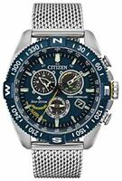 Citizen Promaster Navihawk Eco-Drive Movement Blue Dial Men's Watches CB5848-57L