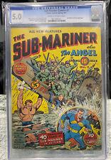 Sub-Mariner Comics 1 CGC 5.0 1941 Very Scarce