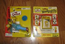 2 HOMER SIMPSON THE SIMPSONS Wind Up Bowling KRUSTY the CLOW BASIC FUN 2002 2003