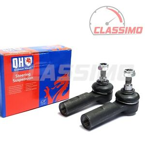 Track Tie Rod End Pair for MG ZR (up to ch. 461772) - 2001-2005 - Quinton Hazell