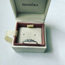 Pandora Silver Fairytale Sparkle Ring Size 60 Ale S925