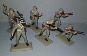 GERMAN AFRIKA KORPS WW2 set Argentina  DSG Plastic Soldiers Britains