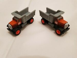 Thomas The Tank Engine & Friends WOODEN MAX AND MONTY TIPPER DUMP TRUCKS WOOD