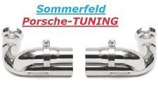 Porsche 991 GT3 Cuprohr Sportauspuff Sport exhaust bypass pipe Dummy +2013