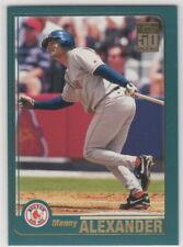 2001 Topps Baseball Boston Red Sox Team Set
