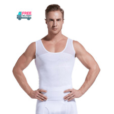 UK Gynecomastia Man Boobs Chest Compression Vest Men's Discreet Slimming Vest