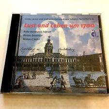Lust Und Leben Um 1700 (CD 1999) Pachelbel, Erlebach, Krieger, Schwartzkopff