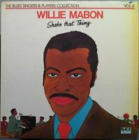 Willie Mabon - Shake That Thing LP VG+ 33545 Vinyl 1973 Record