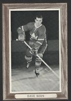 1964-67 Beehive Group III Toronto Maple Leafs Photos #171B Dave Keon/No number