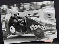 Vintage Photo, Automobile Racing, Miniature Cars, Children, 1930s - 1960s S2#11