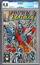 Deathlok #1 CGC 9.8 WP 1991 3860630024 Metallic Silver 1st Issue Collector's