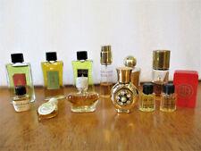 Lot Vintage Miniature Perfume Bottles Balenciaga Cabochard Gres Christian Dior