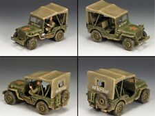 King & Country chute de Berlin ra030 Lend Lease RUSSE JEEP MIB