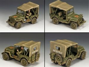 KING & COUNTRY FALL OF BERLIN RA030 LEND LEASE RUSSIAN JEEP MIB