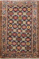 "4'8"" x 7'2"" Antique Unusual Persian Bakhtiari Rug, Mina Khani Design. #16821"