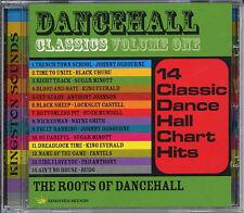 VARIOUS ARTISTS  DANCEHALL CLASSICS Volume One NEW CD £9.99