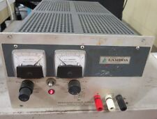 Lambda, LH 122 FM,  DC Power Supply, Output: 0-20 VDC, 0-5.7 Amps Bench Checked