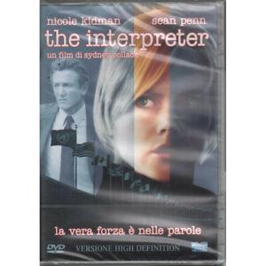 The Interpreter DVD Nicole Kidman Sean Penn / Eagle pictures Sigillato